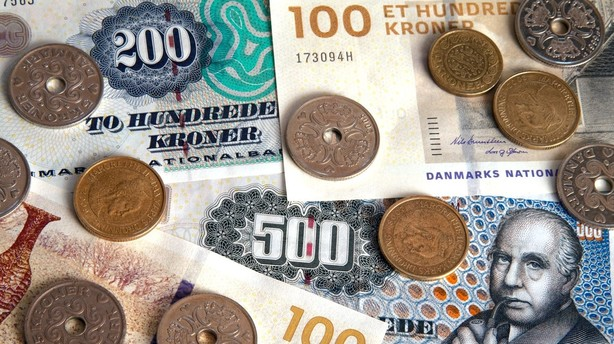 Penge-sedler og -mønter